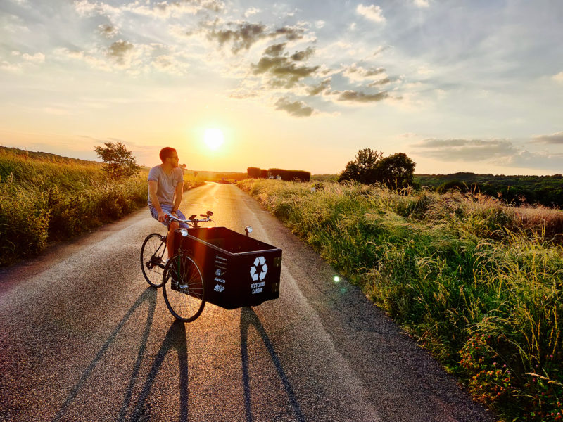 vélo cargo sports carbone
